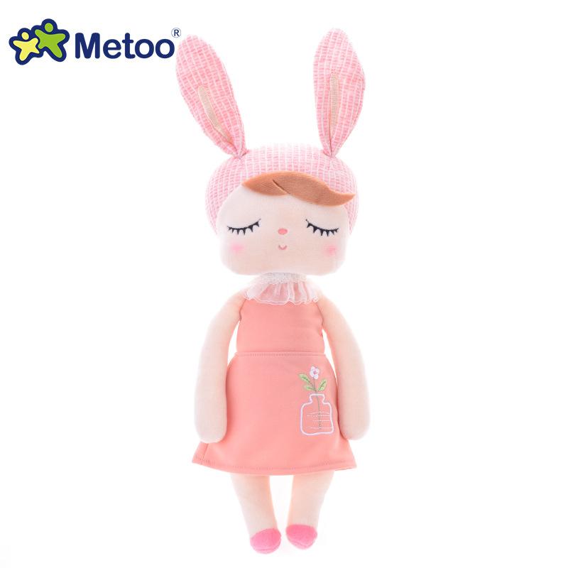 Новый Metoo Рождественские Подарки плюш игрушки Ангел кролик игрушки в виде животных с плюшевой набивкой игрушки дети девочки мальчики ребен...(Китай)