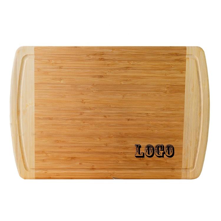 Органическая Бамбуковая разделочная доска для кухни 18x12,5 дюймов бамбуковый блок для мясника и разделочная доска для резьбы