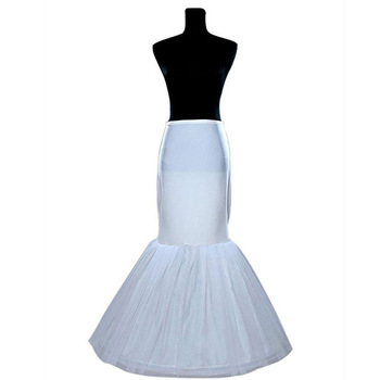 Wholesale underskirt bride wedding dress yarn elastic petticoat skirt