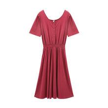 Платье с коротким рукавом в стиле ретро inman, лето 2020(Китай)