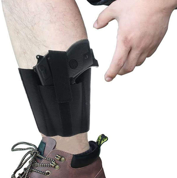 Holster for concealed carry band with magic straps phone and weapon use tactical leg holster
