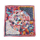 Scarf Si New Style Wholesale Customized Printed Women Silk Scarf Women Stoles Hijab Designer Square Small Manufacturers Imitated Si