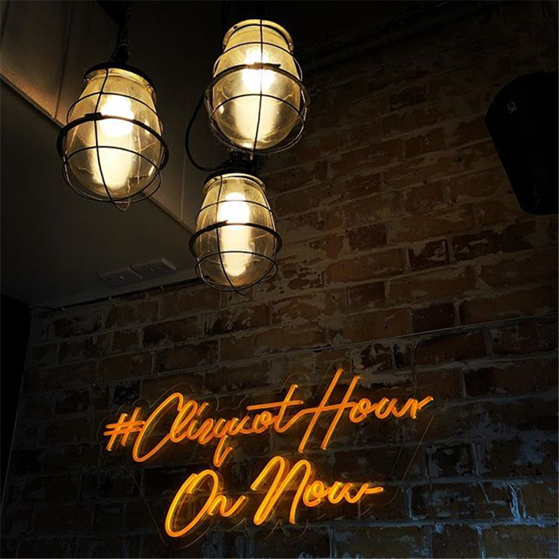 Rebow Hot Wall Mounted Hanging Decorative LED Neon Light Sign Acrylic Custom Neon Sign Letters