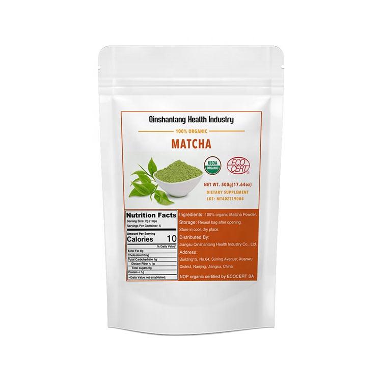 500g/bag Top Quality Organic Green Tea Matcha Powder - 4uTea | 4uTea.com