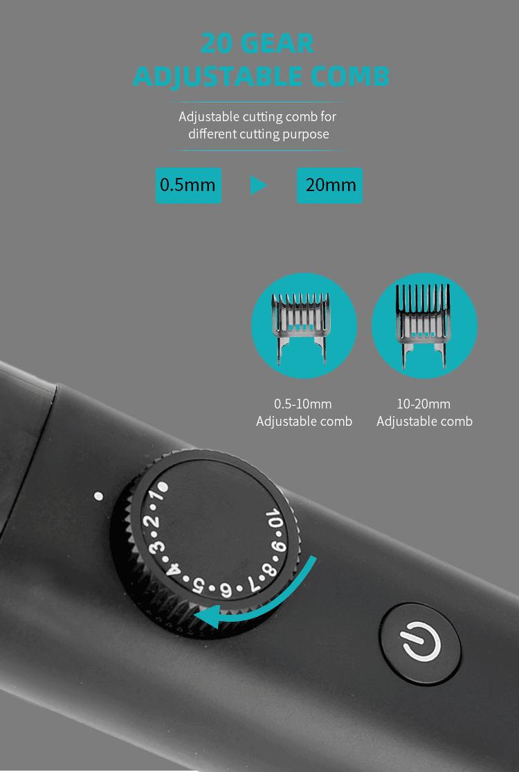 PRITECH PR-2388 Beard Trimmer IPX6 Water proof 5