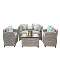 All Weather Georgia State High Top Garden Line Patio Set/Rattan Patio Furniture Set