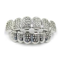 2020 Новая мода золото серебро цвет зубы Grillz Топ низ шикарные мужские и женские ювелирные изделия(Китай)