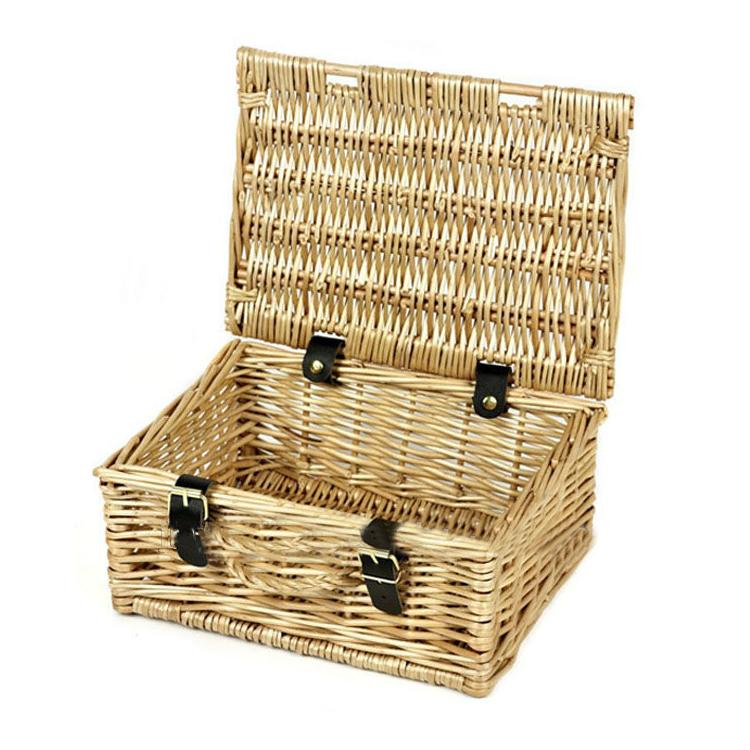 100% handmade rectangle Laundry Basket