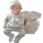 Comfortable baby clothes sets 5pcs baby clothing pants romper suits new born baby clothes sets