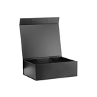 Luxury large folding black clothing retail gift packaging box for sale