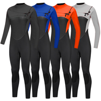 Sbart Custom high quality chest zip wet suit super stretch diving suit mens 3mm neoprene surfing wetsuit
