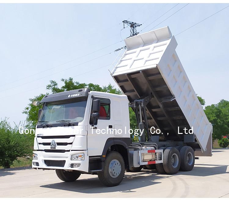 फैक्टरी आपूर्तिकर्ता इस्तेमाल किया चीन howo टिपर ट्रक डंप sinotruk 10 पहिया 6x4 दुबई में बिक्री के लिए