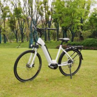 26 Inch Popular 250W 6061 Aluminum Alloy Wholesale City Electric Bicycle E Bike