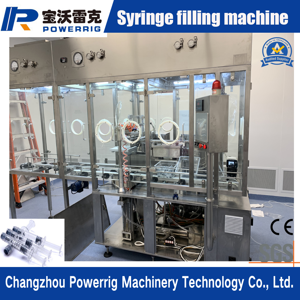 Aseptic Syringe Filling Equipment for Pharmaceutical Liquid