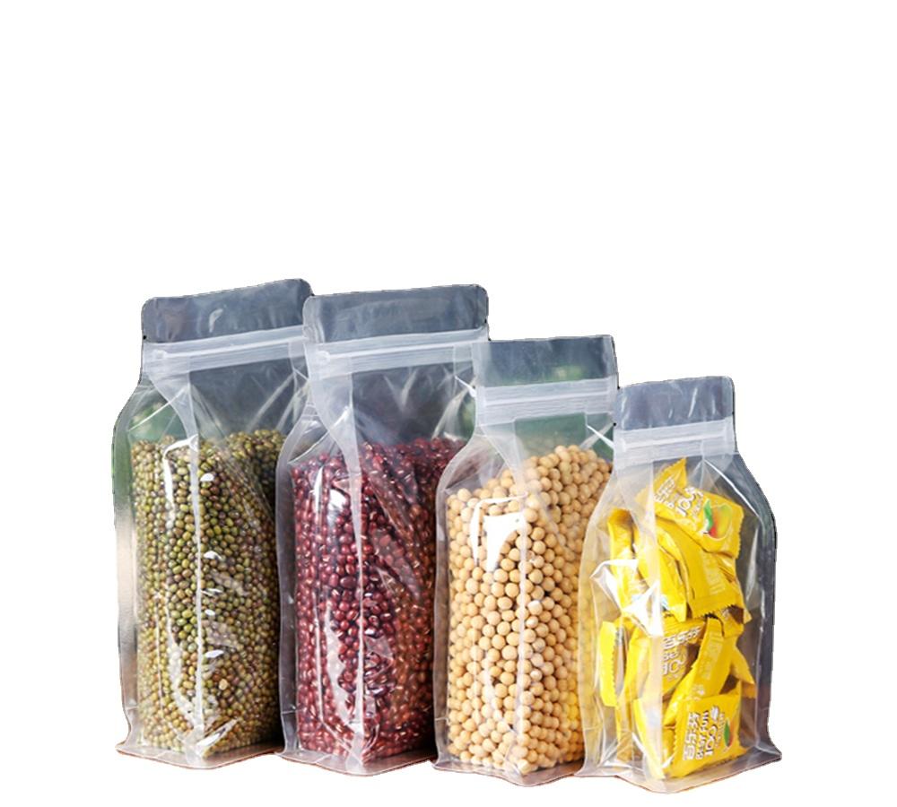 Großhandel Preis Benutzerdefinierte Transparent Einweg PVC Getrocknete Früchte Tasche Kunststoff Beutel