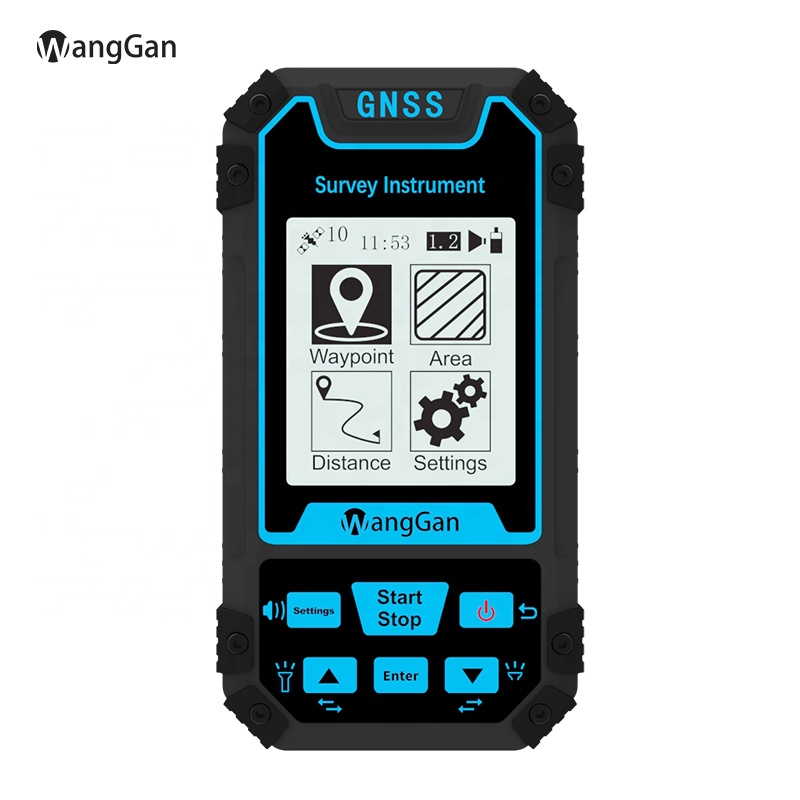 WangGan 2020 New Design  Multi-function  GNSS HandHeld Navigator  Agriculture Surveying Device S8