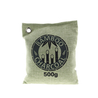 500g Big Size Activated Bamboo Charcoal Air Freshener Bag For Car, House, Pets