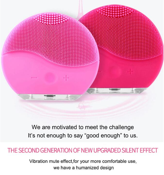 automatic face cleansing electronic facial cleans brush
