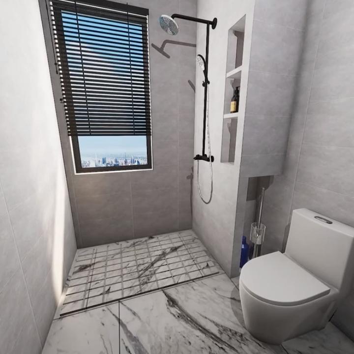 Hotel Sliding Shower Doors bathroom enclosure