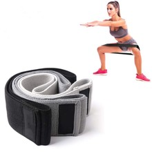 Hoge Kwaliteit <span class=keywords><strong>Hip</strong></span> <span class=keywords><strong>Twister</strong></span> Yoga Fitness Anti-Slip Latex Stretch Band Weerstand Band