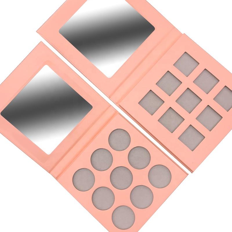 Wholesale pigmented eye shadow palette custom logo eyeshadow palette private label