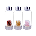 Wholesale BPA Free Crystal Infuse Glass Water Bottle from China