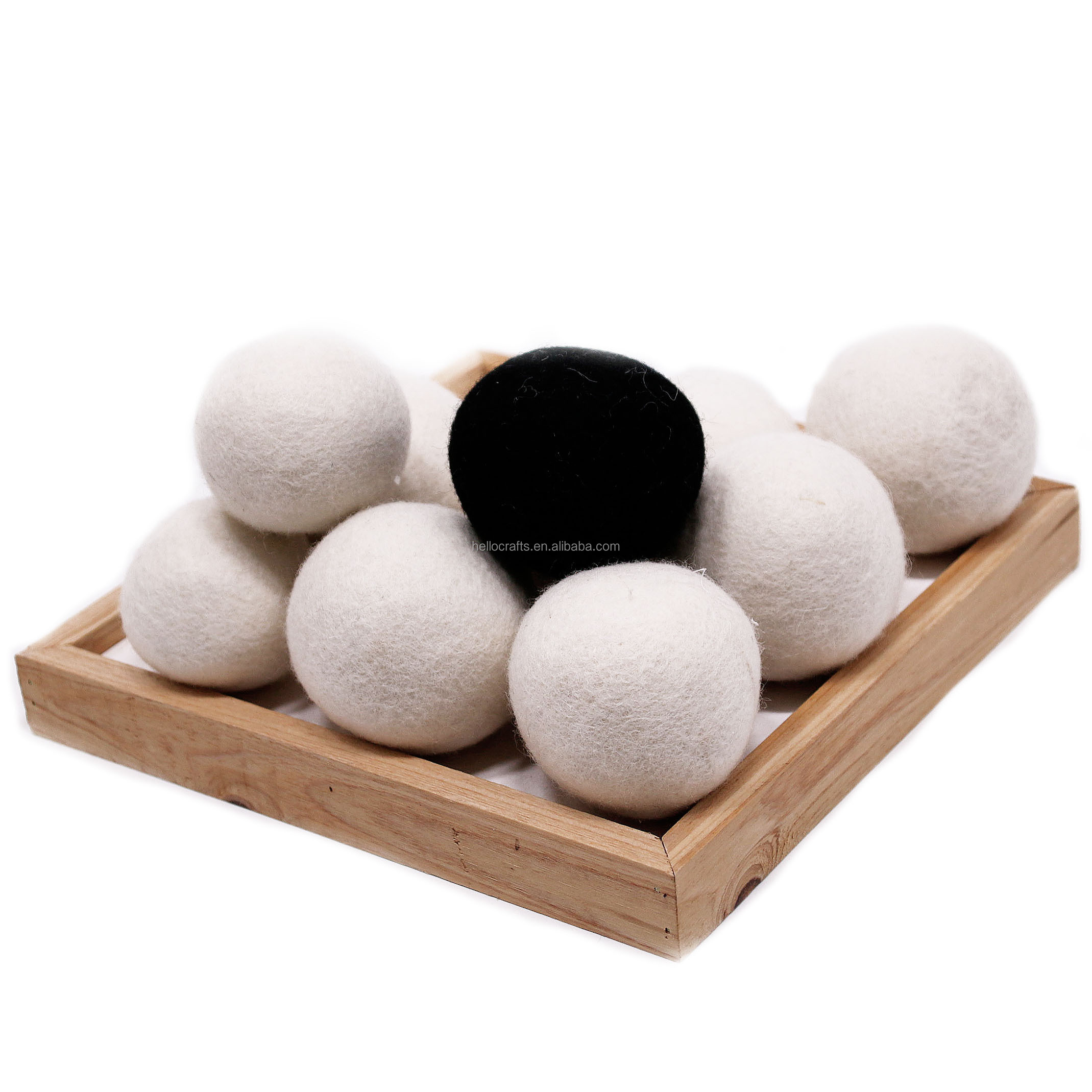 All kinds of 7 cm 7.5 cm 8 cm 9 cm anti static wool dryer ball for washing articles for daily use