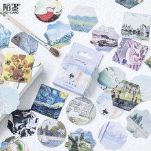 45 шт./кор. каваи, импрессионист, наклейки на стену для детской комнаты, мальчики, девочки, дети, украшение для спальни, дома(Китай)