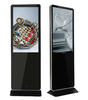 55 inch wifi lan bluetooth advertising player floor stand digital signage touch screen lcd display