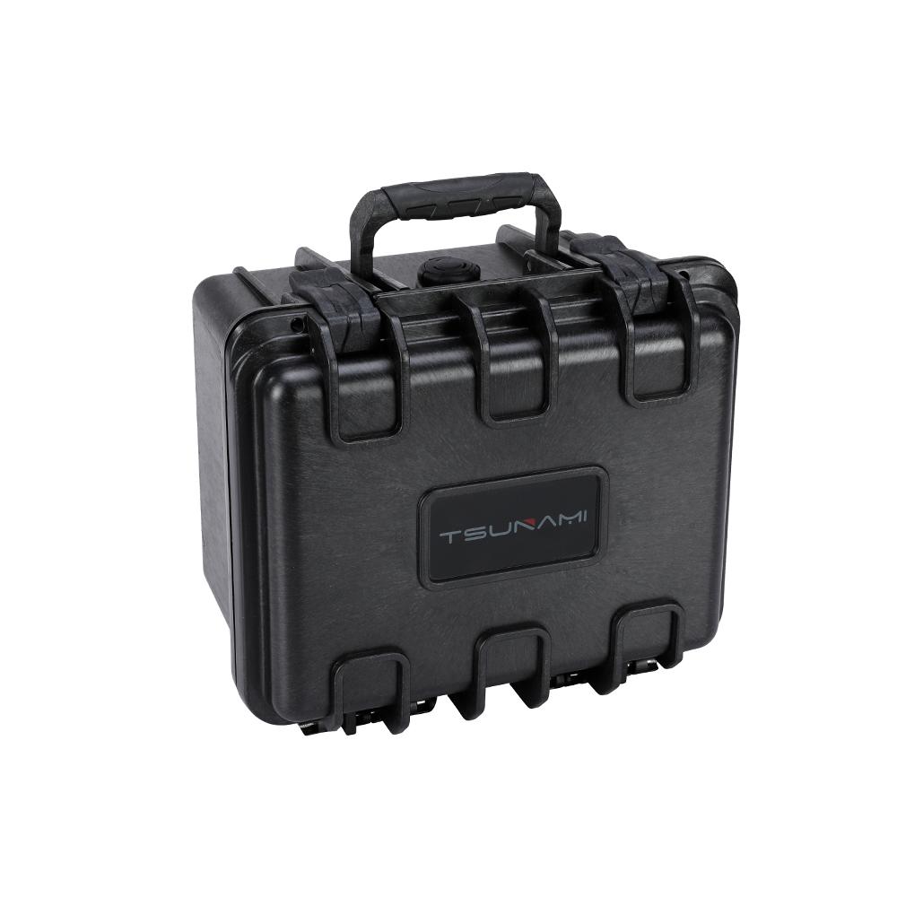 Cajas de reloj venta al por mayor caja de herramienta impermeable personalizado difícil llevar gopro caso buceo caja de reloj