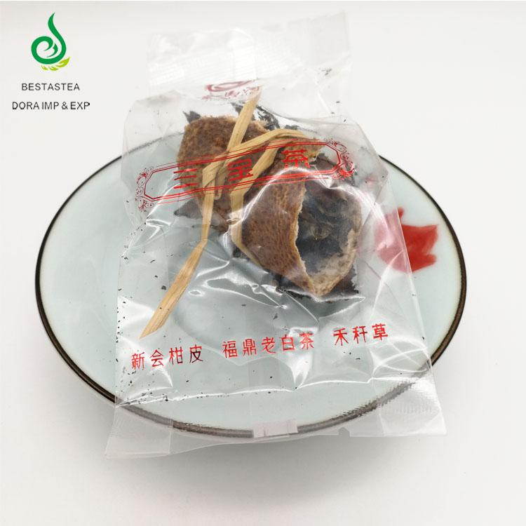 New Popular CBD Tea Sanbaocha Herbal Weight Loss Tea Fuding Dried Tangerine White Tea Beauty Fujian - 4uTea   4uTea.com