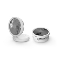 Fashion LED breathing light portable USB mini air circulating fan