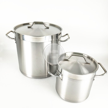98L Induction Ready Stainless steel Cookware Cooking Pot Hot Pot Commercial Kitchen Stock Pot