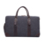 Elegant designer large capacity washed canvas leather travel duffel holdall duffle bag with shoe compartment