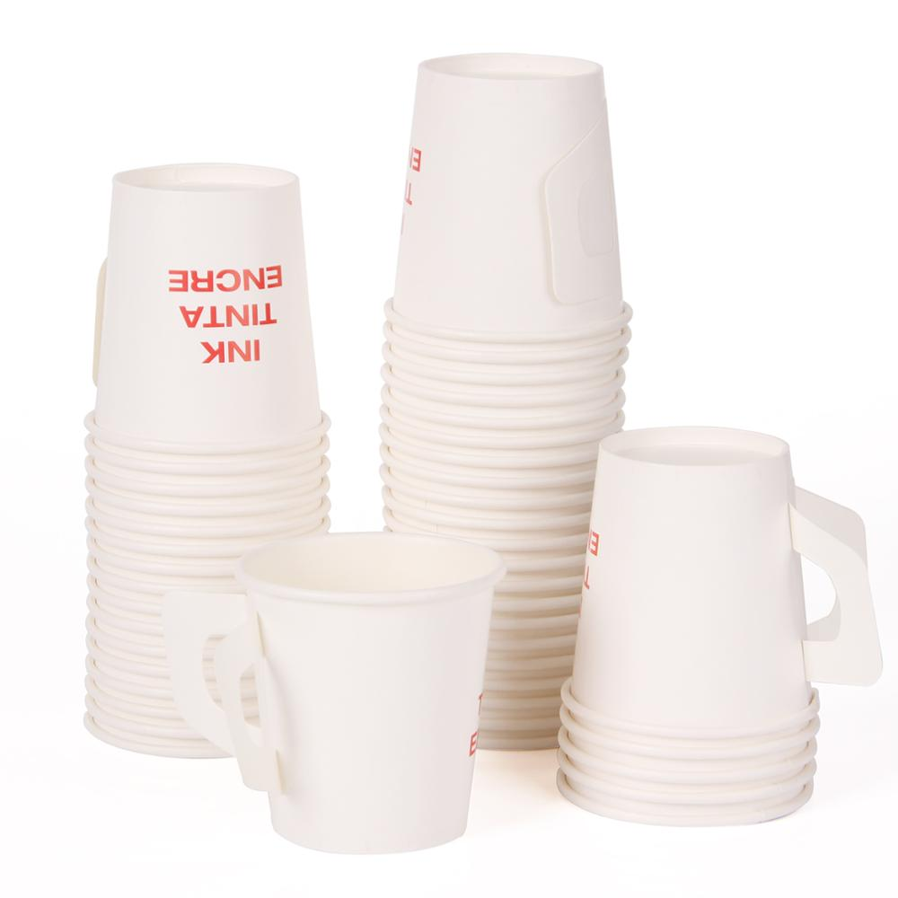disposable paper cup with cover