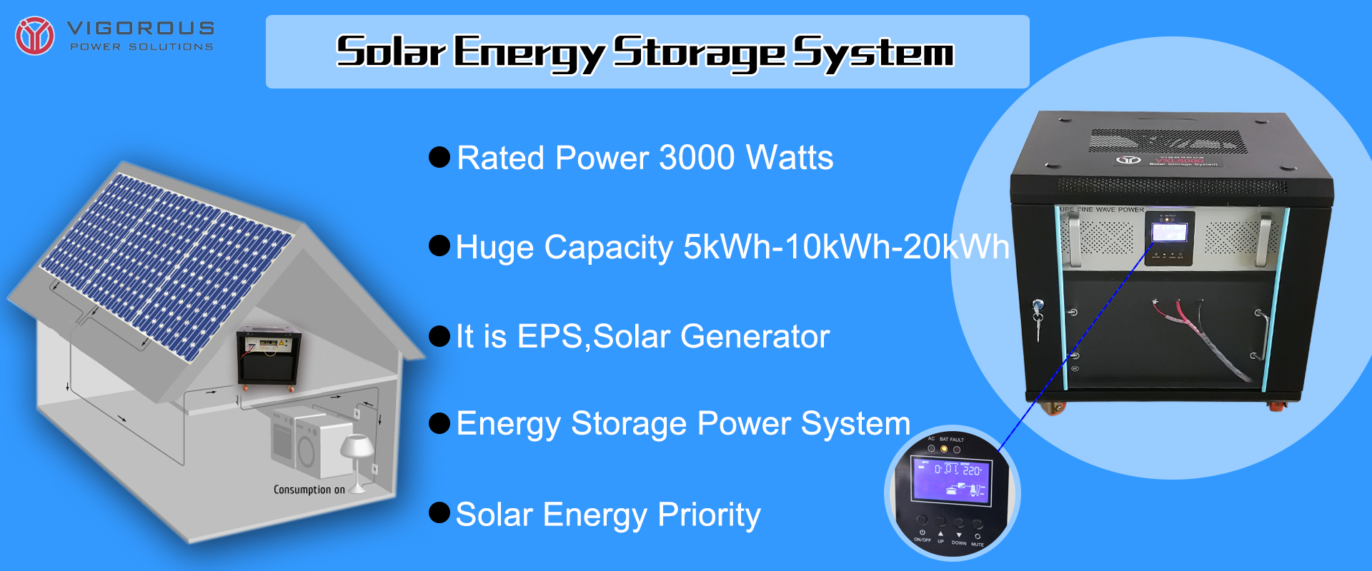 5KW Solar System Off Grid Solar Power System Home 10KW 15KW 20KW