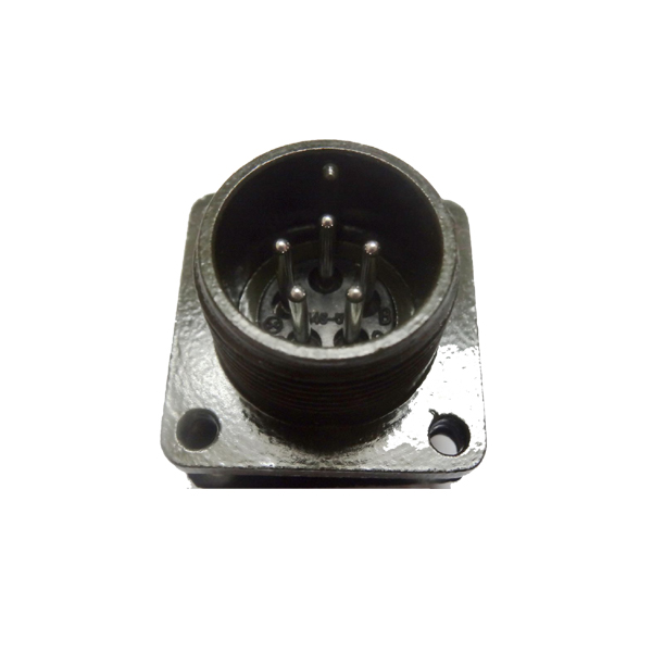 MS5015 Straight Flange 5 pin Male Socket Box Mounting Receptacle MS3102A14S-5P Connector with <strong>Solder</strong> Pin Contact