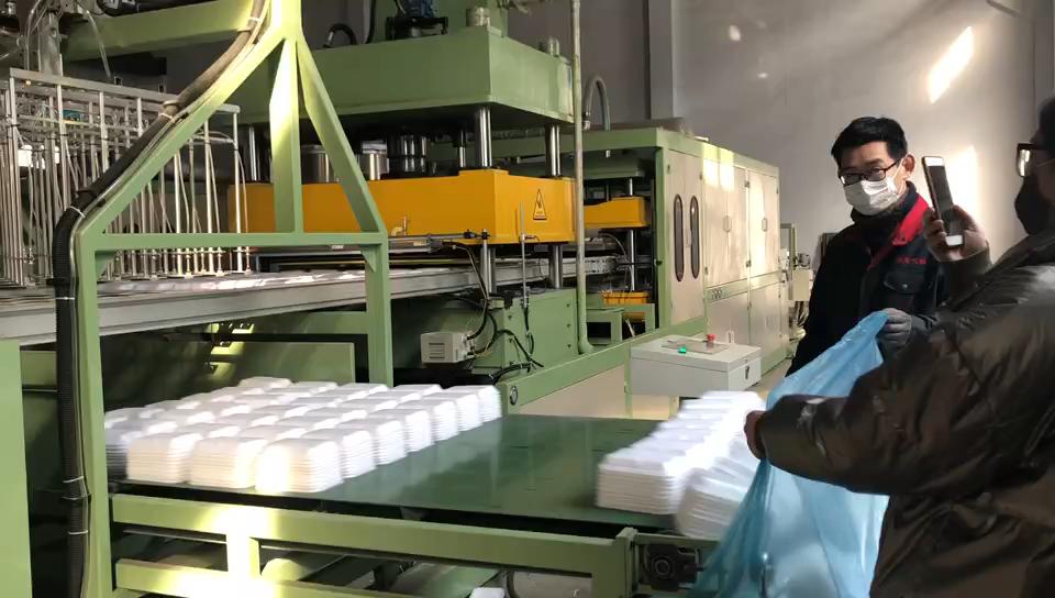 2020 Jaar Plastic Schuim Platen/Wegwerp Schuim Lunchbox Making Machine, Contact Ellie 'S Whatsapp: 008613780912769