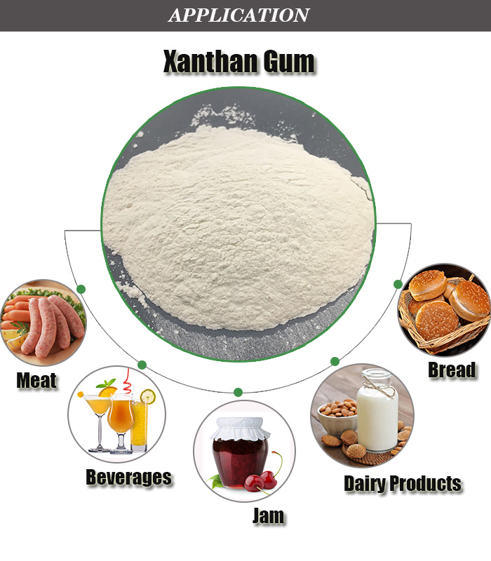 Food additive thickners 80 and 200 Mesh powder Bulk Xanthan Gum