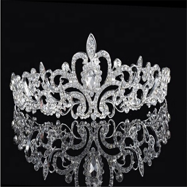 High Quality For Adult Wedding Bridal Hair Accessories Rhinestone Crystal Bling Tiaras And Wedding <strong>Crown</strong> Designer Bridal <strong>Crown</strong>