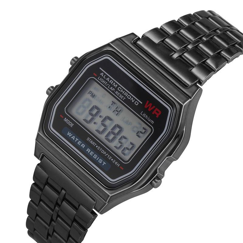 Pesirm рекламные дешевые оптовые лучшие классические Chrono модные спортивные цифровые часы для мужчин красочные цифровые часы