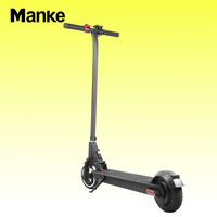 Factory Hot Sale Manke MK013 Aluminum Alloy 300W 6.5 inch Folding Electric Kick Scooter for Adult with Good Price