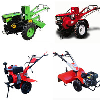 Small-Scale 177 F/P 92#gasoline Agricultural Machinery 5.5kw Farm Equipment/Mini Rotary Tiller