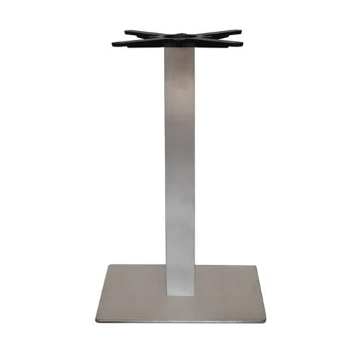 garden furniture outdoor table square stainless steel table base