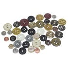 Senwei brand high quality four-hour round metal hand sewing button for uniform