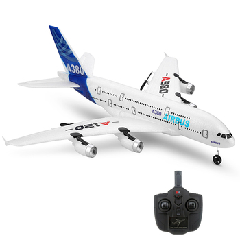 Plastic model plane three channels remote control electric 2.4g rc aircraft rc plane