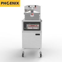 Fast Food Restaurant Kitchen HENNY PENNY with Oil Filter PFE-800 Chicken Broasted Machine Pressure Fryer