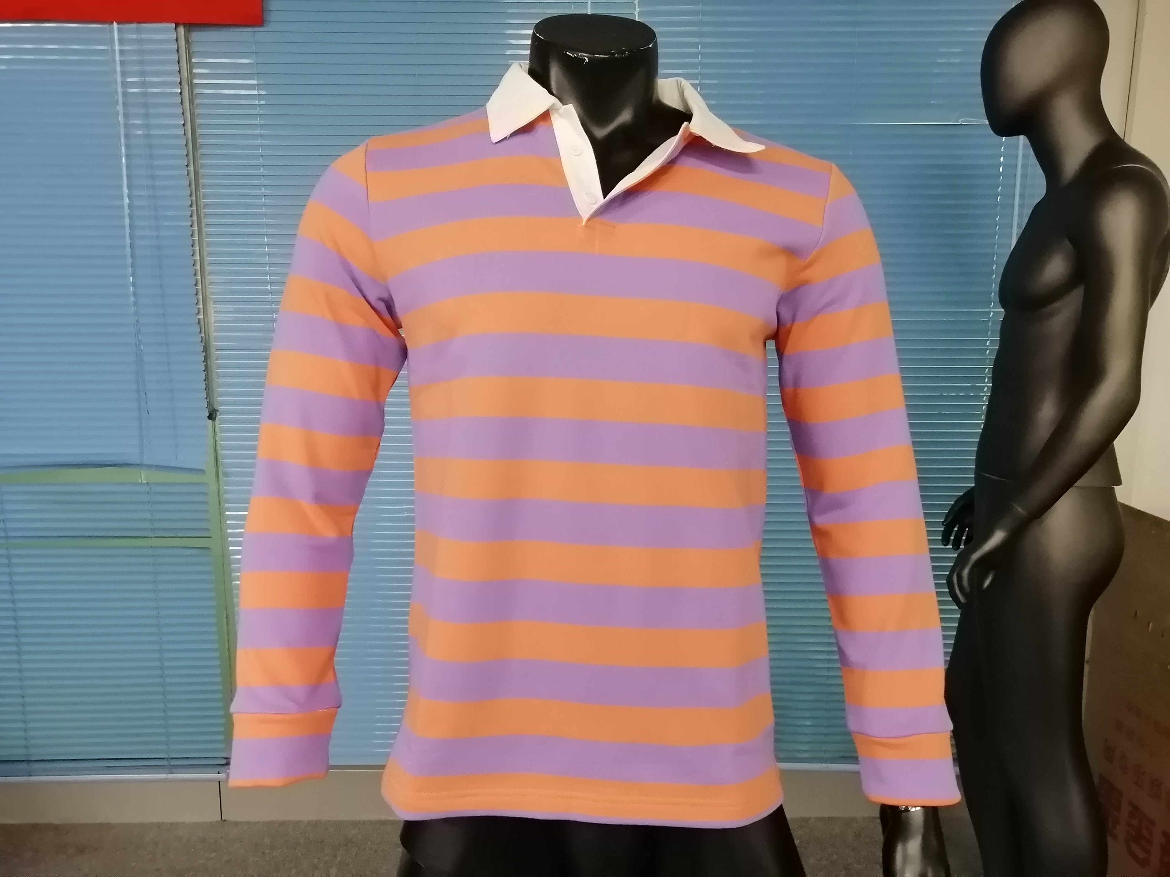 Rugby Jersey Polo Shirt