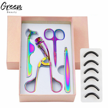 Private Label Erhitzt 4 Pcs Wimpern Curler Set Rose Gold Benutzerdefinierte Schönheit Werkzeuge Wimpern Applikator <span class=keywords><strong>Pinzette</strong></span> Augenbraue <span class=keywords><strong>Clip</strong></span>