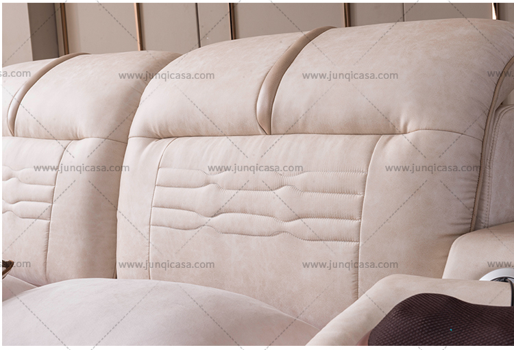 Multifunction storage tatami beds with massage music design Modern Platform Tufted Leather Smart bedroom furniture